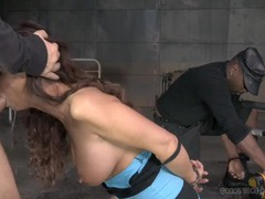 Syren de mer face fucked in bondage videos