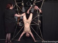 Restrained bondage babe elise graves tubes