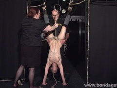Restrained bondage babe elise graves videos