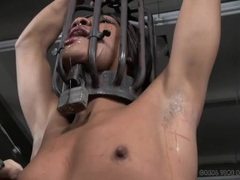 Punishment for a black girl in bondage videos