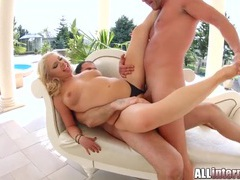 Two anal creampies totally destroy her asshole videos