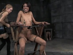 Her nipple pain is real in a dungeon session movies at kilotop.com