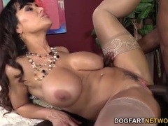 Lisa ann ass fucked by a black boner videos