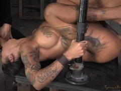 Tattooed bonnie rotten used like a sex slave tubes