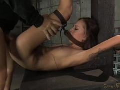 Bound young lady fucked by a pair of guys movies at kilomatures.com
