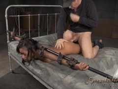 Bondage sex scene with skin diamond movies at kilosex.com
