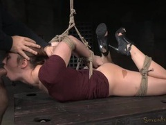 Hogtied jodi taylor chokes on big cocks movies at find-best-ass.com