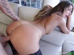 Incredible babe august ames fucked in stockings videos