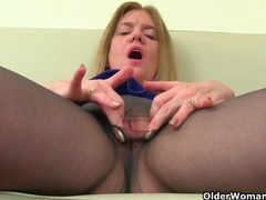 It is black tights and no knickers day for uk mum jessica movies at find-best-babes.com