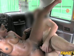 Gorgeous black girl fucked in a taxi cab videos