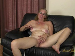 Interview with a cute mature lady that masturbates movies at find-best-tits.com
