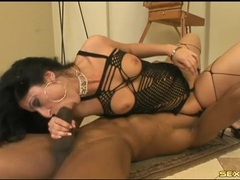Luscious lopez fucks a fit black dude with a big cock tubes