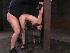 Bent in painful bondage and fucked from behind movies at kilotop.com