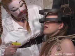 Taylors bizarre lesbian humiliation videos