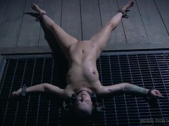 Slow water torture drives a bound girl crazy videos