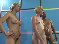 Blonde pornstars are both eager to share his dick movies at find-best-babes.com