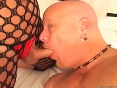 Dick eating tranny gives him a sexy rimjob too movies at adipics.com