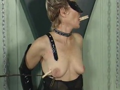 Submissive milf ends her scene with a painful red ass videos