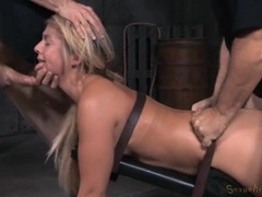 Dungeon sex slave hammered by big cock guys videos