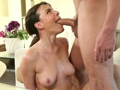 Dana dearmond gives a wicked sloppy blowjob videos
