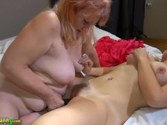 Oldnanny - blonde women, big boobs compilation videos