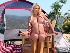 Camping hottie gigi allens is a perfect blonde movies at kilopills.com