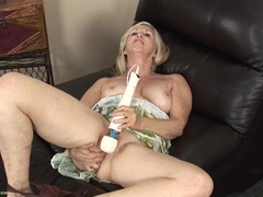 Old babe with a magic wand turns on her cunt movies at lingerie-mania.com