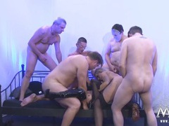Blondes gangbanged by a group of horny gentlemen movies at kilopills.com