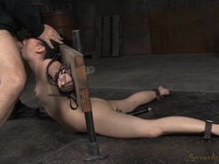 Bound slave opens up so they can fuck her mouth movies at kilopills.com