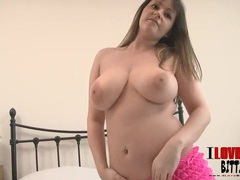 Big titty babe is amazingly hot in lingerie videos