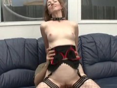 Milf whore in a collar lets him fuck her ass movies at find-best-panties.com