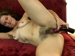 Hairy bush and legs on a toy fucking milf chick movies at find-best-panties.com