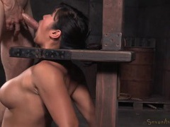 Orally talented asian slave girl gets throat fucked movies at dailyadult.info