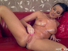 She fingers her dripping wet pussy videos