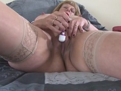 Vibrator delights her shaved mature pussy movies at dailyadult.info