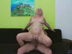 Bleach blonde mature lady laid from behind movies at sgirls.net