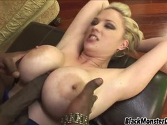 Fake boobs hottie katie kox loves black boner movies at kilopics.net