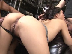 Wet blowjobs for two guys from this cutie tubes at japanese.sgirls.net