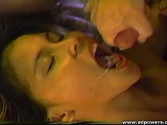Young beauty makes the dirty old white guy cum videos