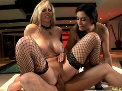Fishnets babe julia ann on top of a hard dick movies at sgirls.net