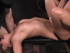 Bound and spread girl is their sex slave movies at kilotop.com
