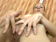 Small breasts milf fondles her tits and rubs her cunt videos
