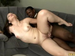 Interracial fuck satisfies a bubble butt babe movies at sgirls.net