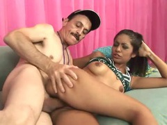 Horny cheerleader fucks a big old dude dick movies at find-best-videos.com