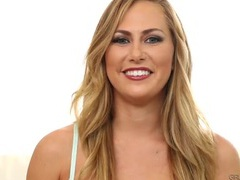 Carter cruise chats about lesbian sex in her lingerie videos