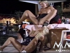 Kinky chicks piss and fuck throughout their scene movies at find-best-panties.com
