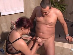 Chubby mature slut fucked in her shaved cunt movies at sgirls.net
