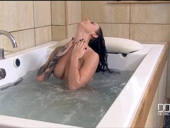 Erotic bath time with a sexy tattooed girl movies at find-best-videos.com