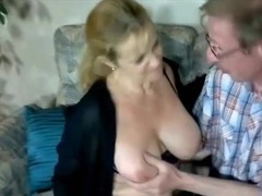 Old cocksucker fucked in sexy lingerie videos