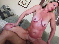 Sunburned milf fucked in her whore hole videos